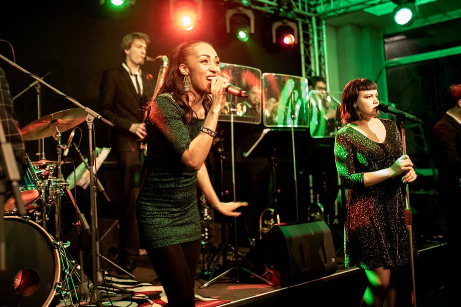 "Die Live-Band ""Toni Gutewort and his Dance Orchestra"""