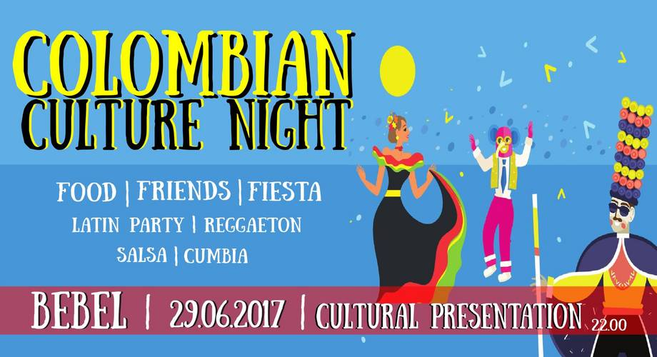 Colombian Culture Night 2017