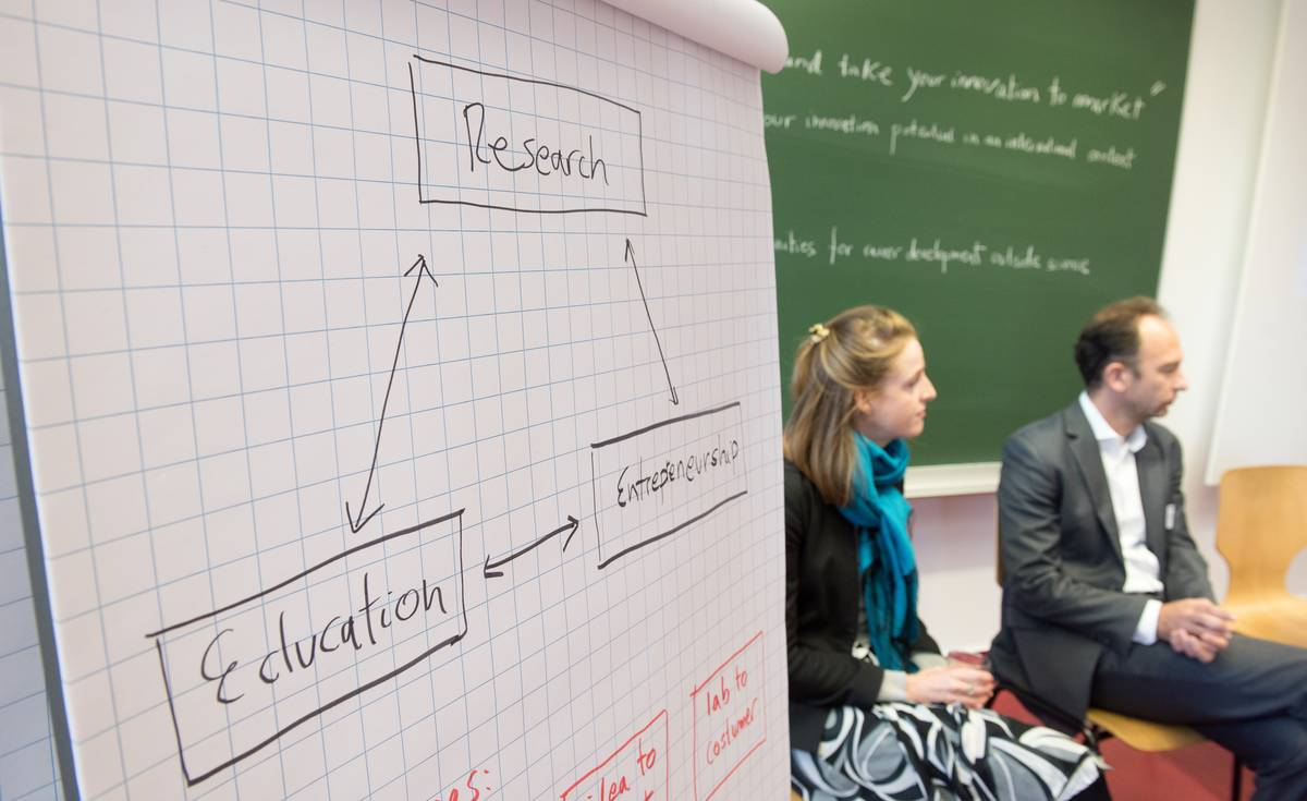 Flipchart und Workshop