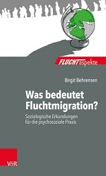 "Book cover of the book ""Was bedeutet Fluchtmigration?"""